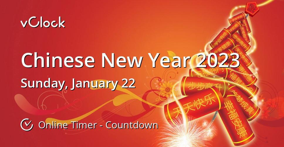 Chinese New Year 2023