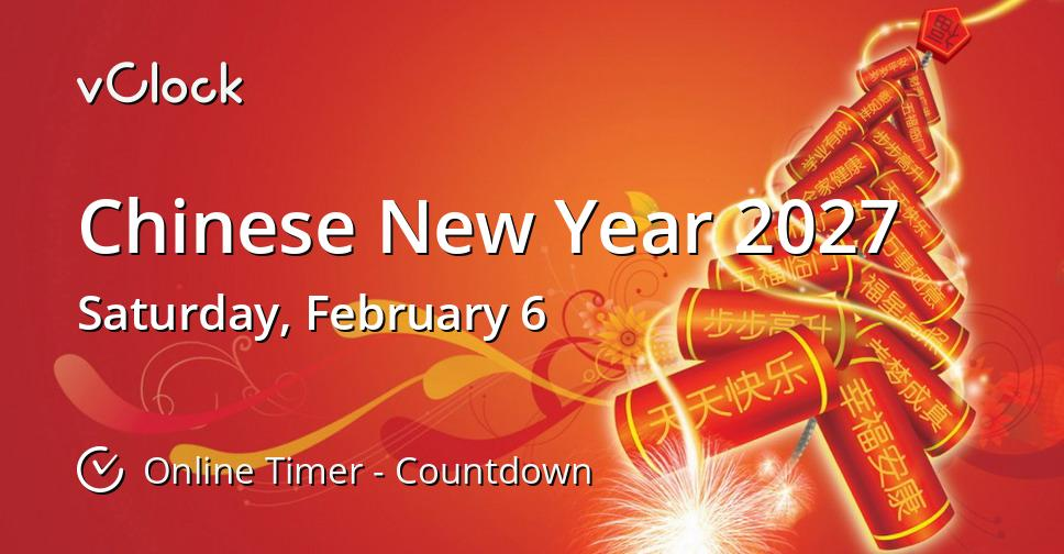 Chinese New Year 2027