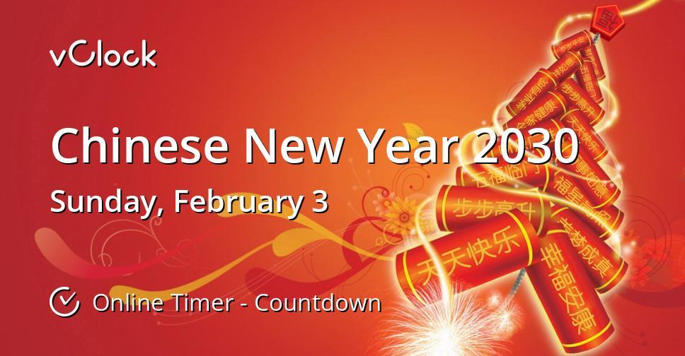 Chinese New Year 2030