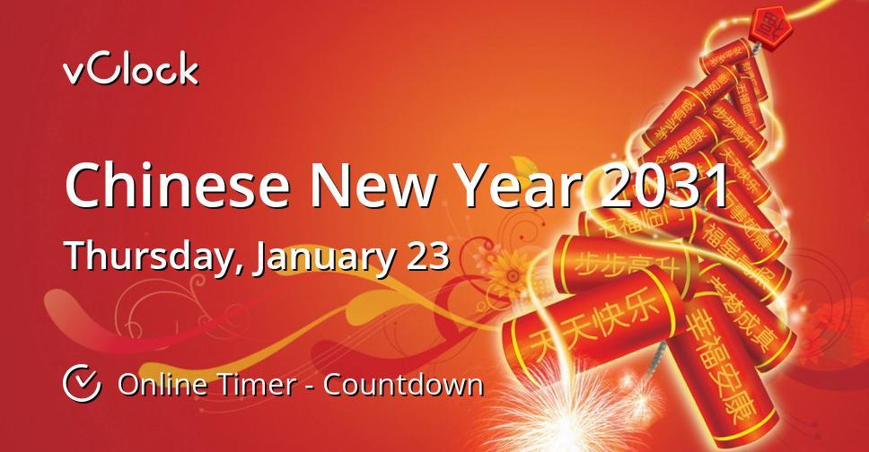 Chinese New Year 2031