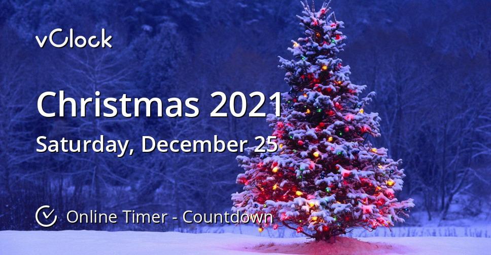 Countdown Weihnachten 2021