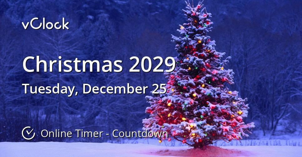 Christmas 2029