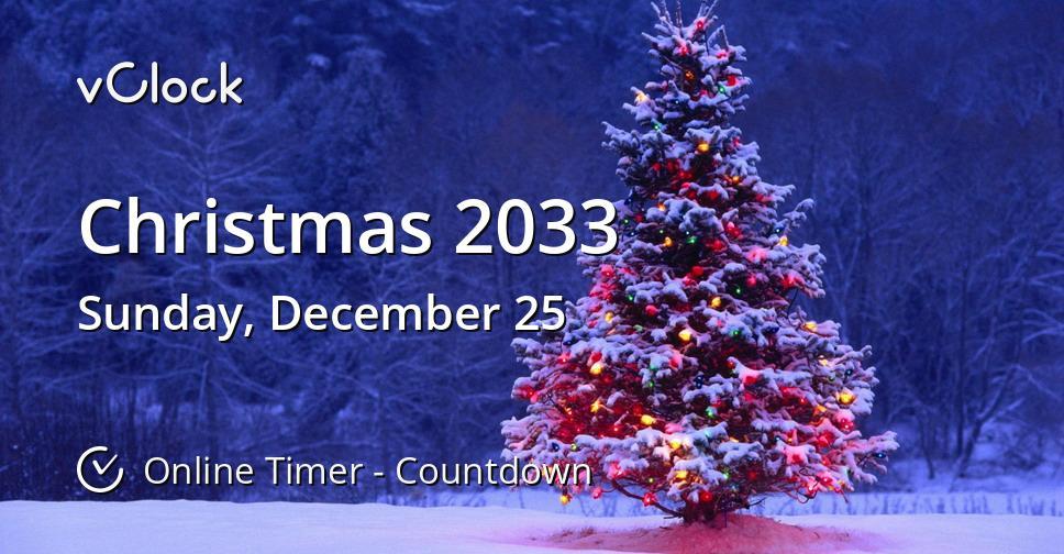 Christmas 2033
