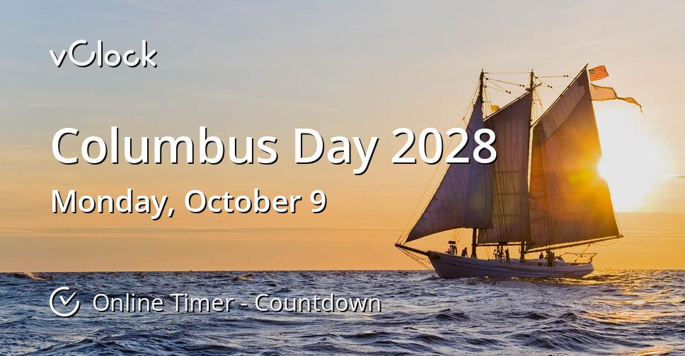 Columbus Day 2028