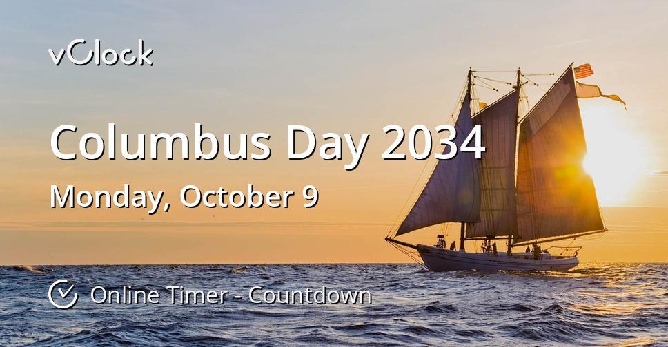 Columbus Day 2034