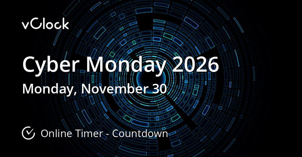 Cyber Monday 2026