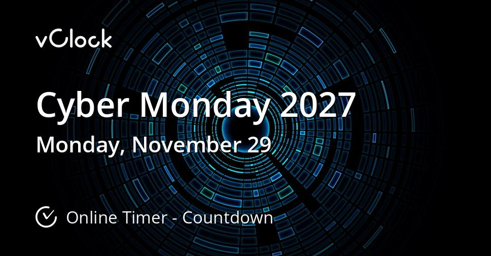 Cyber Monday 2027
