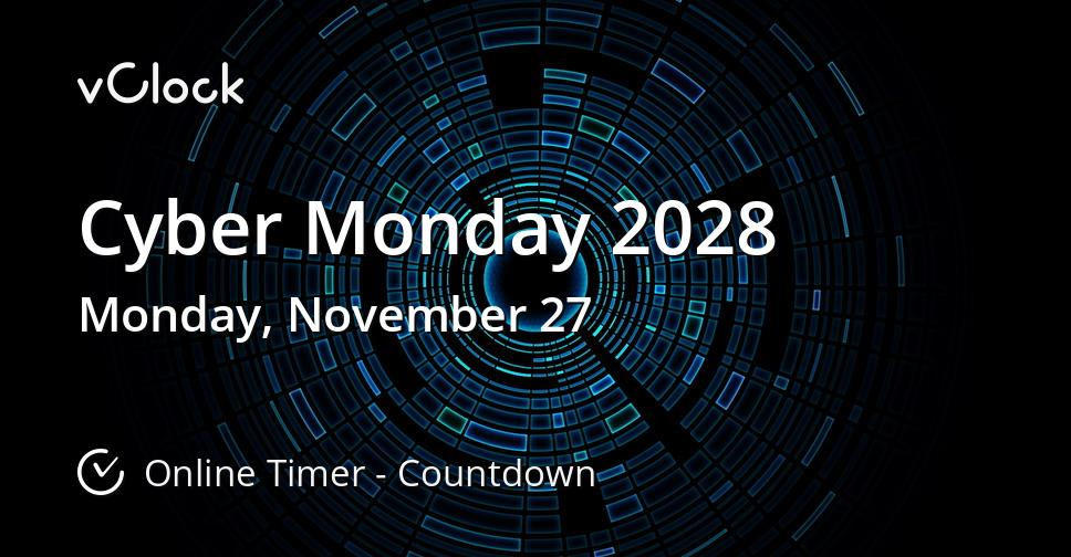 Cyber Monday 2028