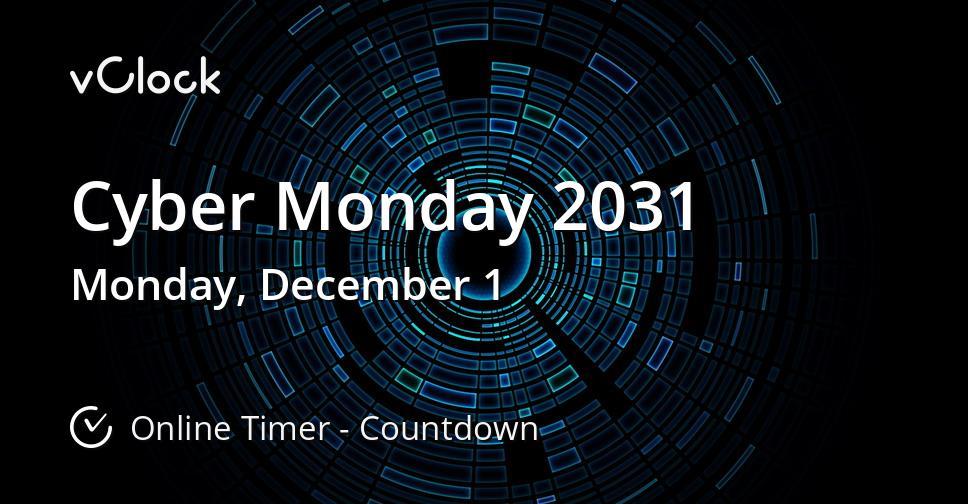 Cyber Monday 2031