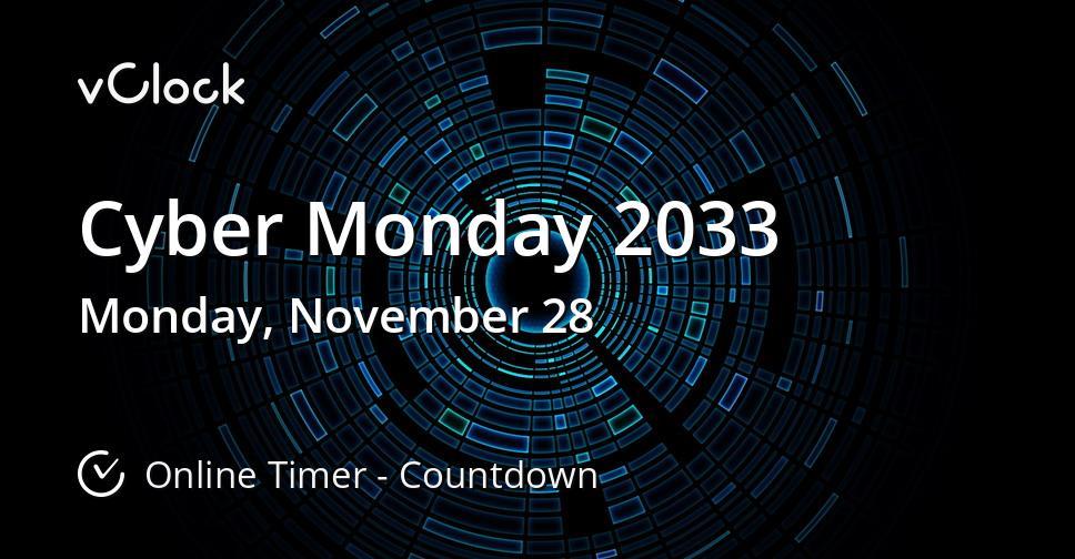 Cyber Monday 2033