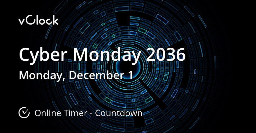 Cyber Monday 2036