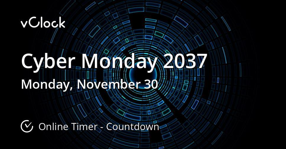 Cyber Monday 2037