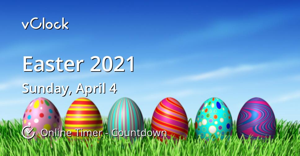 Easter 2021 Countdown