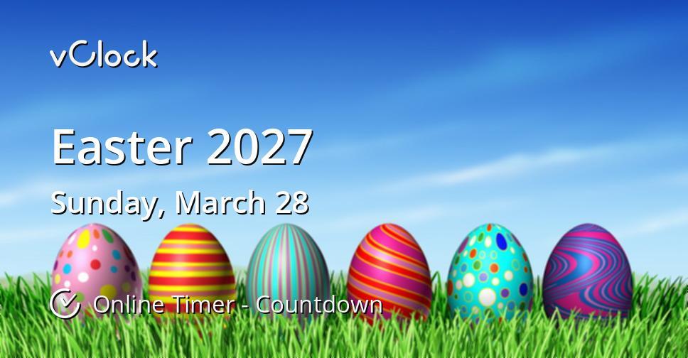 Easter 2027