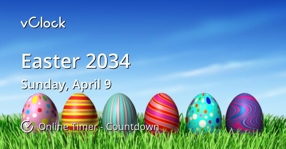Easter 2034