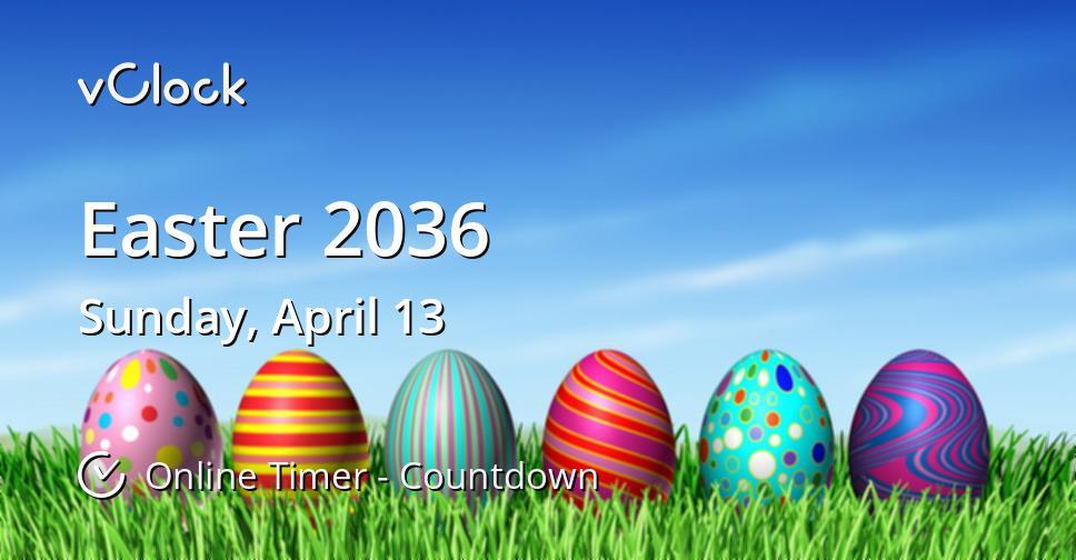 Easter 2036