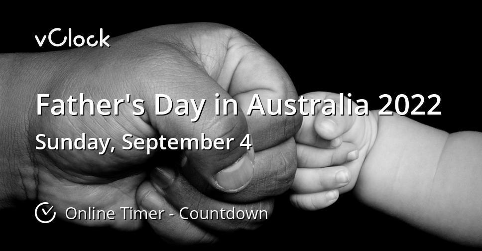 Father's Day in Australia