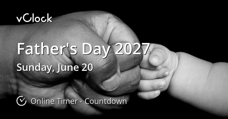 Father's Day 2027