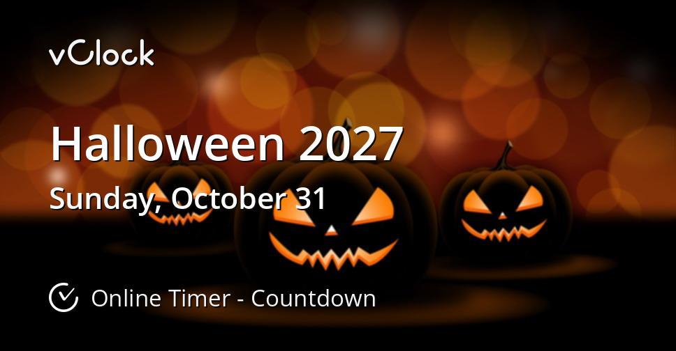 Halloween 2027