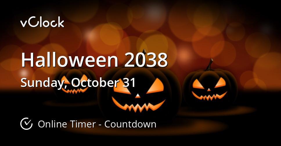 Halloween 2038