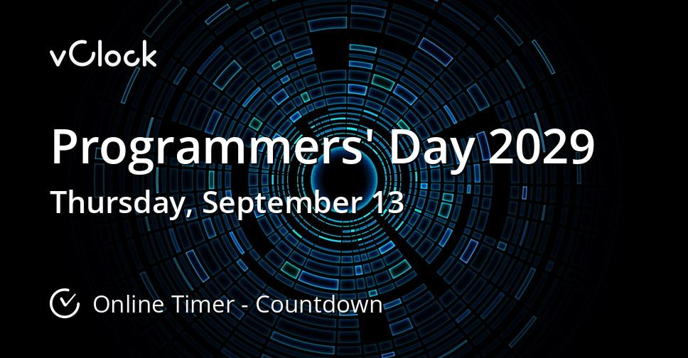 Programmers' Day 2029