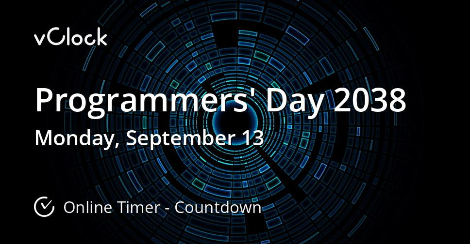 Programmers' Day 2038