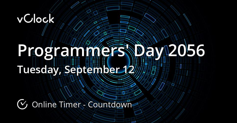 Programmers' Day 2056