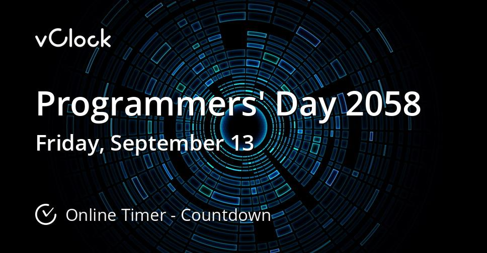 Programmers' Day 2058