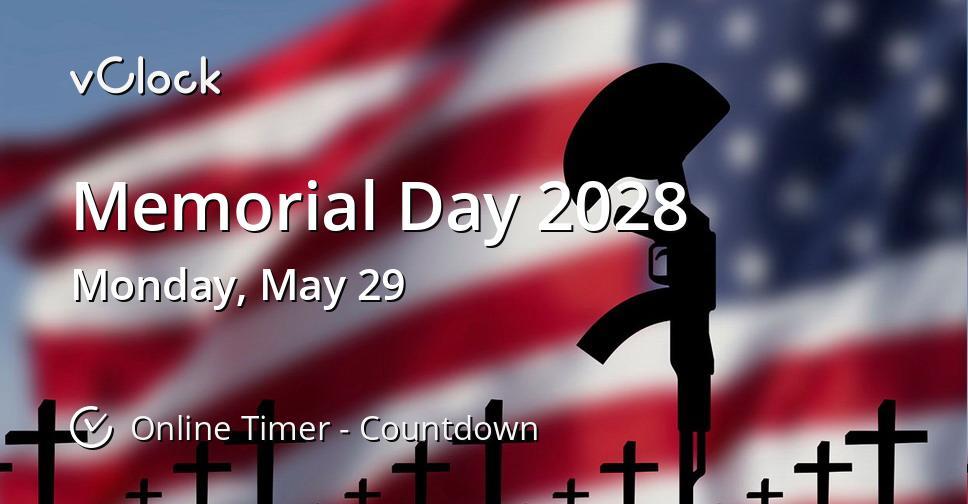 Memorial Day 2028