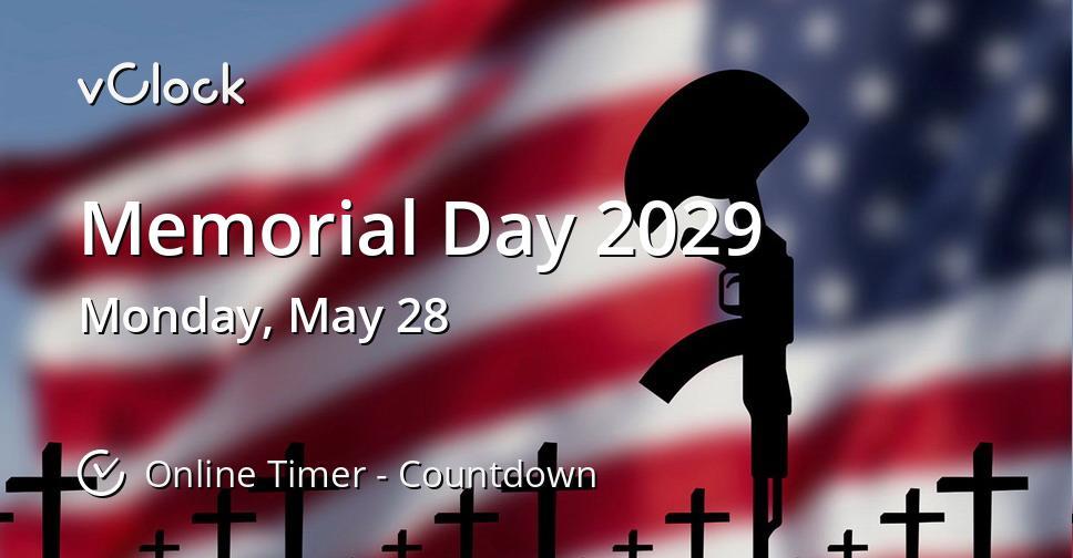 Memorial Day 2029
