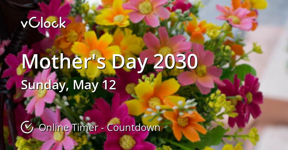 Mother's Day 2030