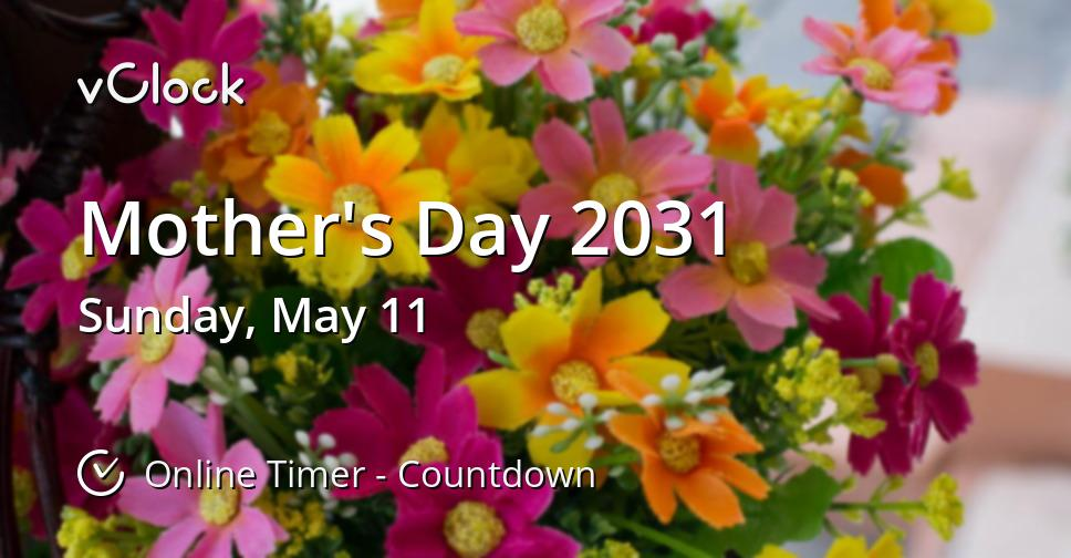 Mother's Day 2031