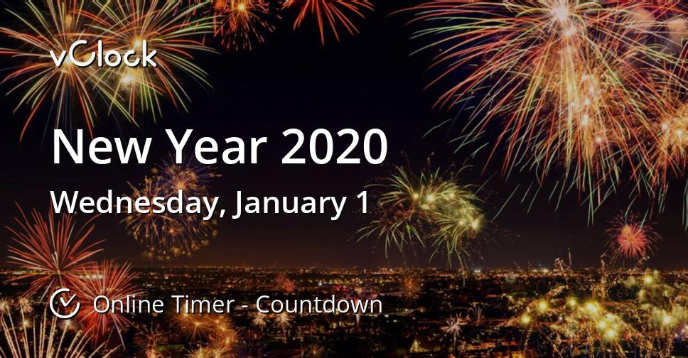 When Is New Year 2020 Countdown Timer Online Vclock