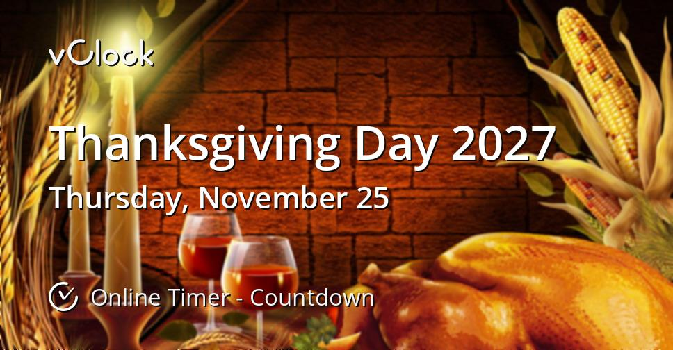 Thanksgiving Day 2027