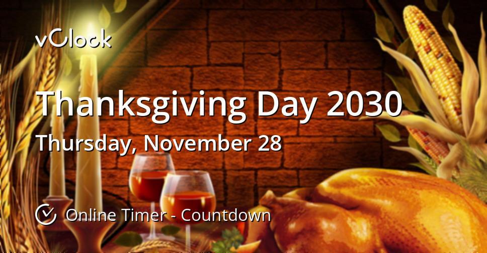 Thanksgiving Day 2030