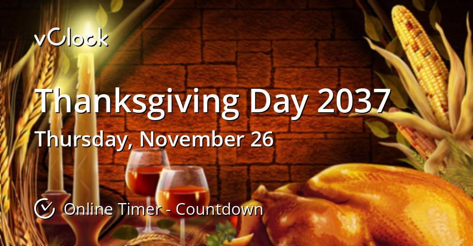 Thanksgiving Day 2037